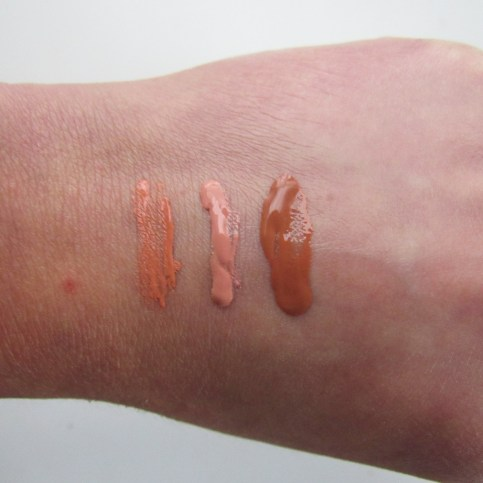 Flower Blush Bombs Swatches
