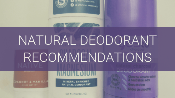 natural deodorant recommendations