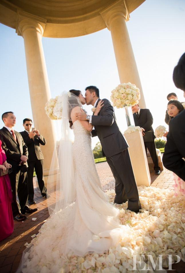 Newport Beach Pelican Hills Resort Asian Bride Wedding Makeup Artist Angela Tam Olive