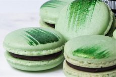 Peppermint French Macaron and Chocolate Genache Filling Recipe