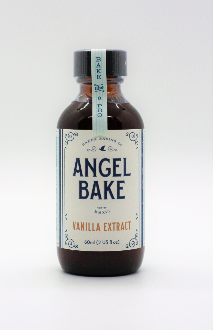 Angel Bake Pure Vanilla Extrract. Bake like a pro!