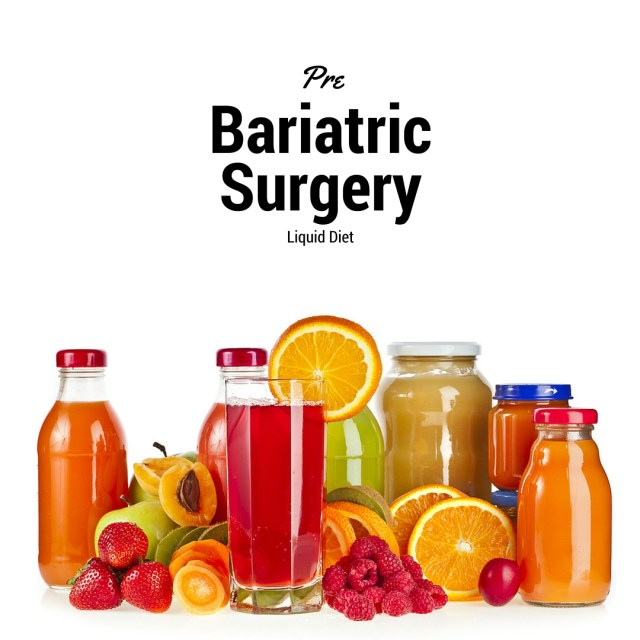 bariatric advantage and liver reduction diet