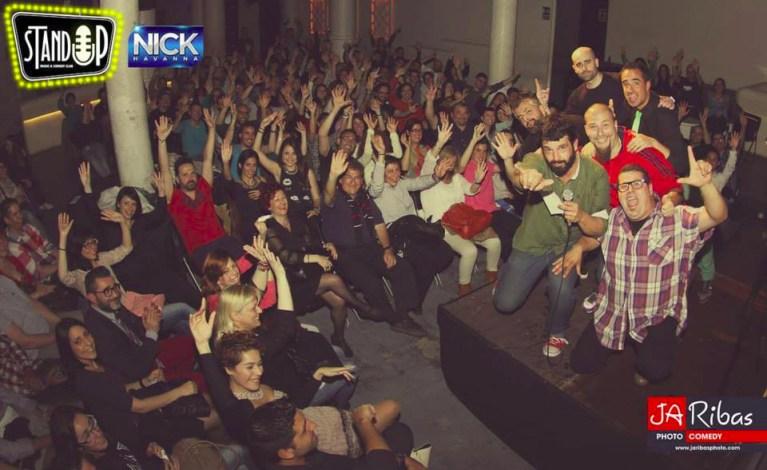 Actuación en Standup Comedy Club - Barcelona (Fotografía de JaRibas Photo)