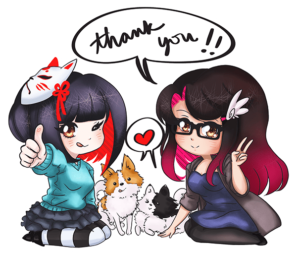 Thank you from AngelFox
