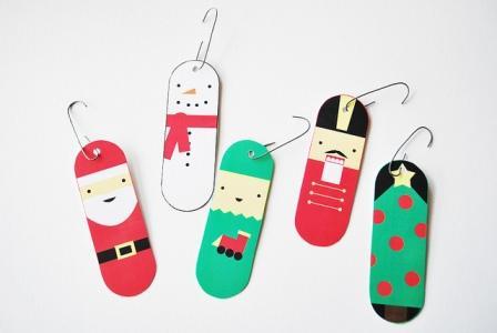 figuritas para imprimir de árbol navidad