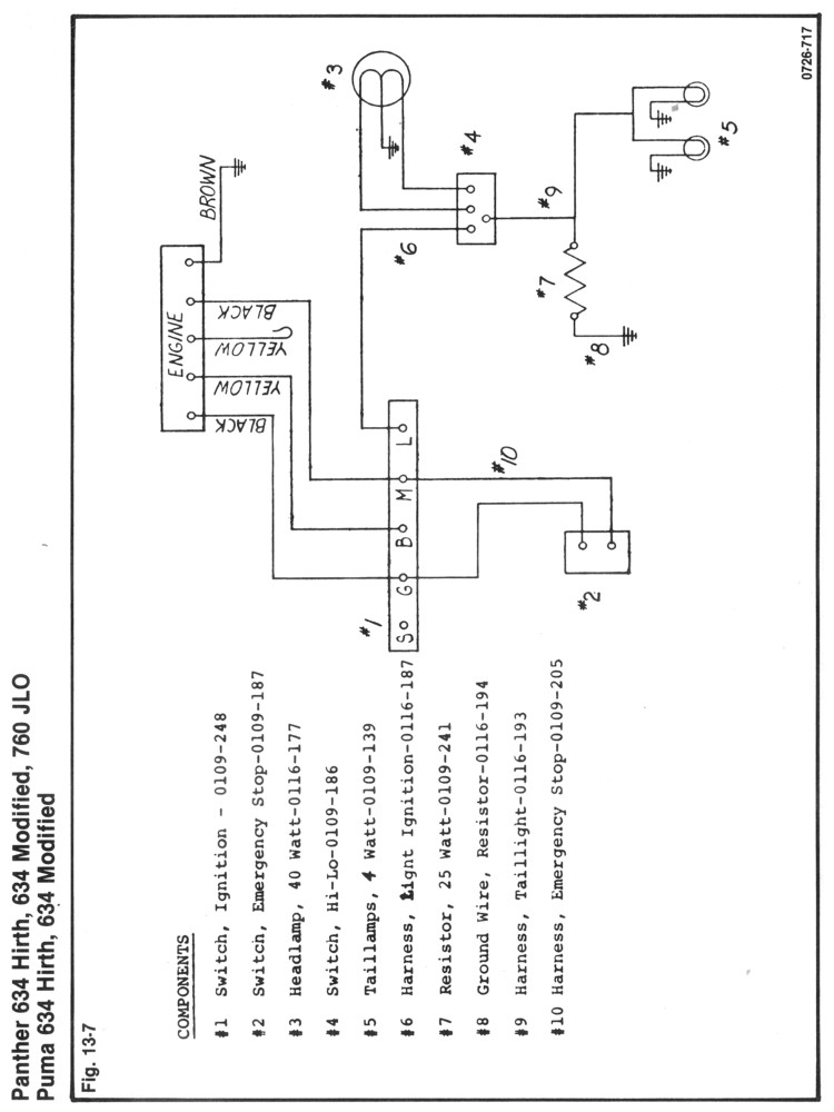 Rupp 634 Wt Wiring Diagram Lights Ed Some