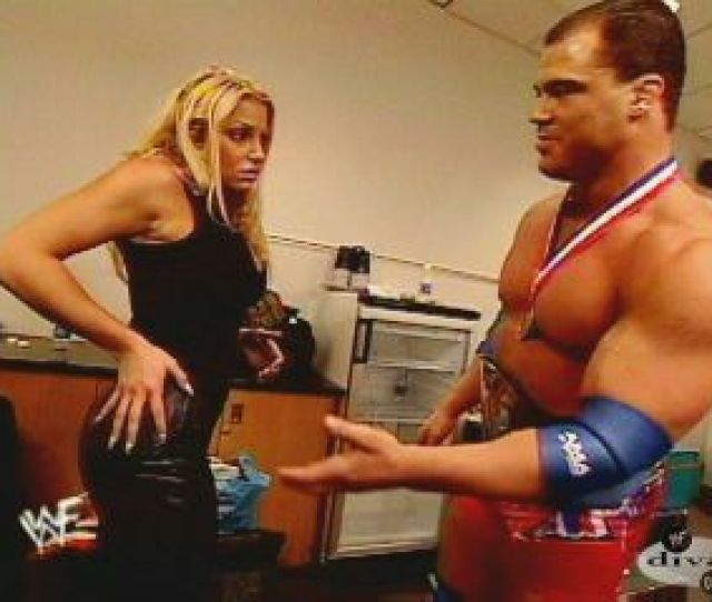 The Canadian Princess Trish Stratus Well Hey Kurt You Are Looking Really Fit As Of Late I Saw That Match With Shawn Michaels