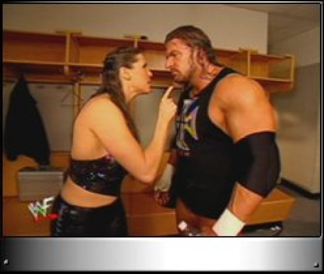 Stephanie Mcmahon Oh You Arrr Damn It Triple H Im Tired Of Your Big Mouth I Cant Wait Until Smackdown When I Watch You Bleed And Scream