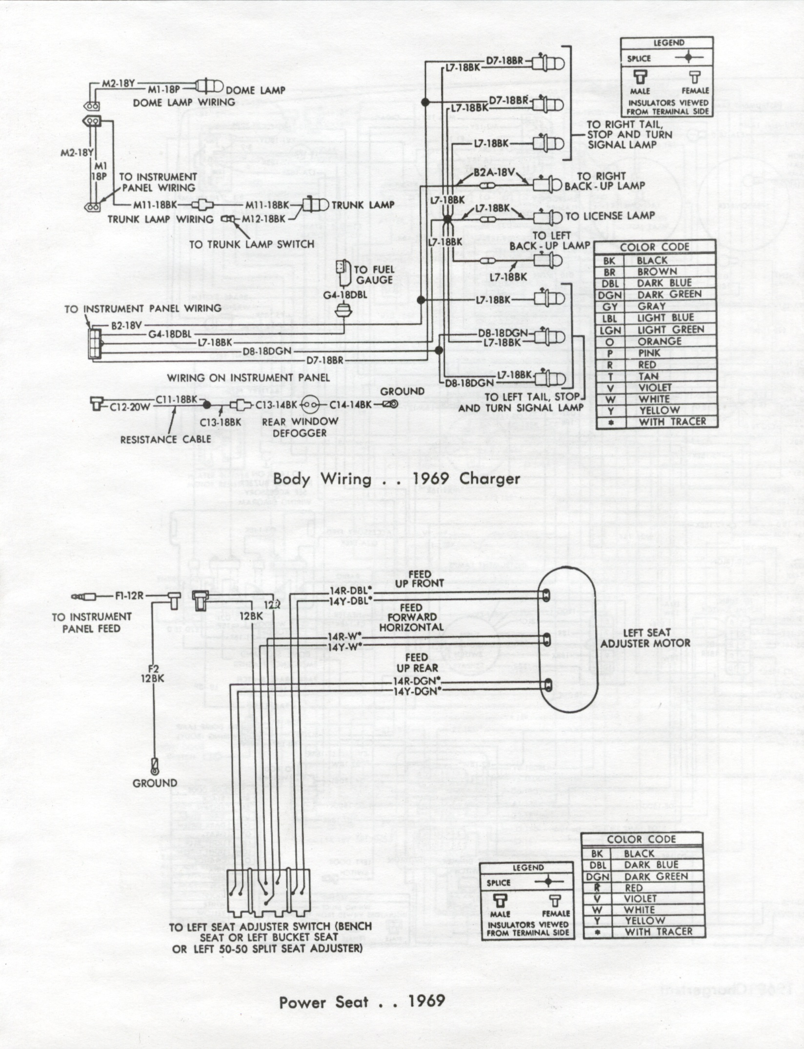 69 Charger Wiring Diagram