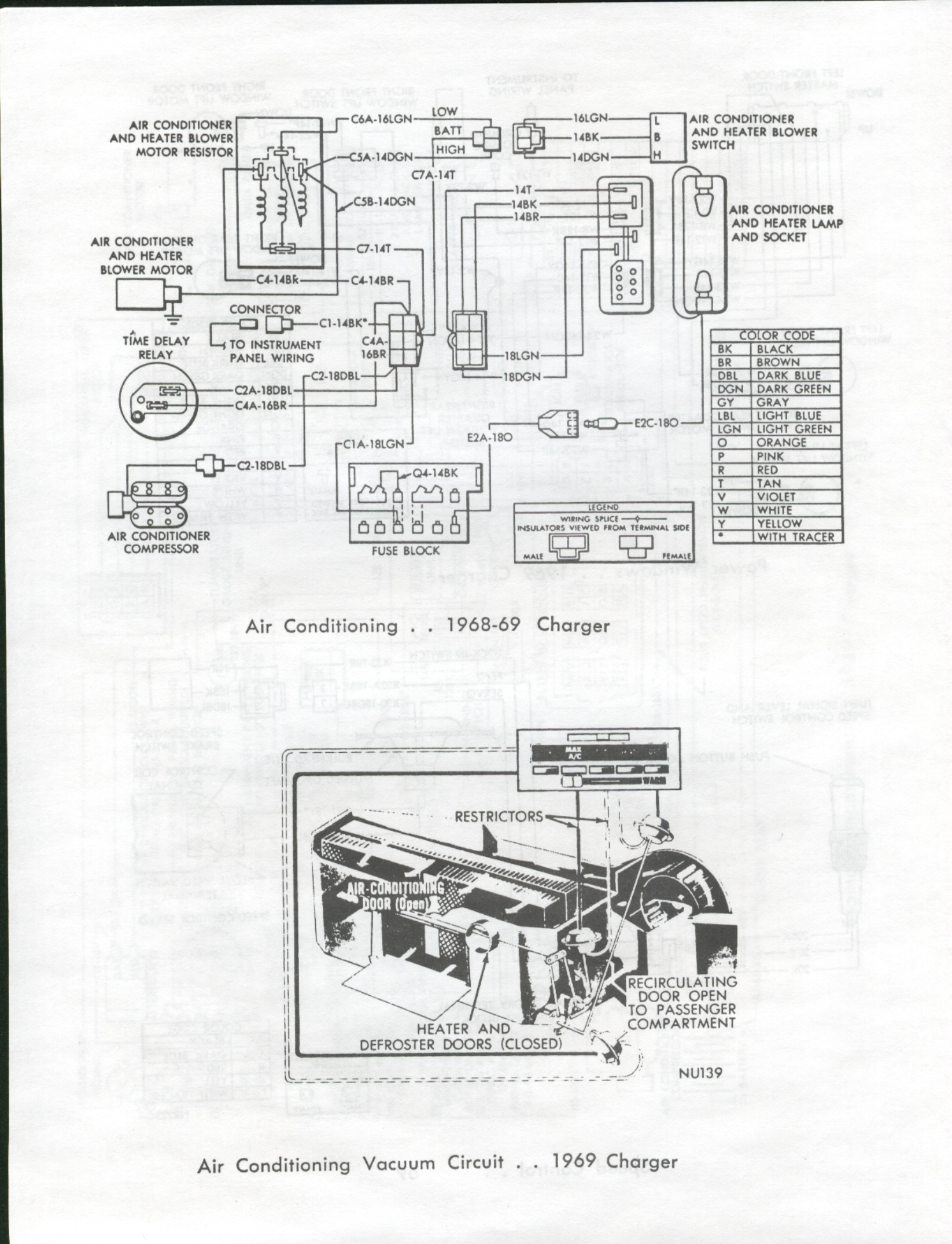 68 Charger Wiring Diagram