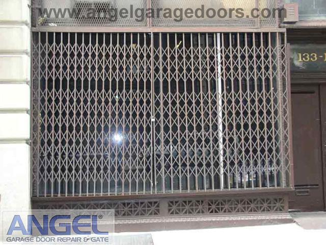 Storefront Gate Installation Angel Garage Door Repair