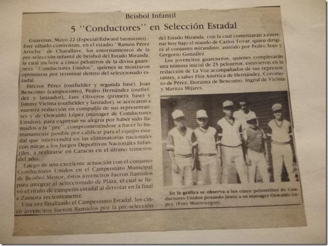 Articulo_Seleccion_Estadal_Beisbol_Infantil