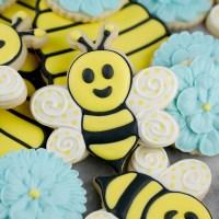 Cute Bumble Bee Cookies