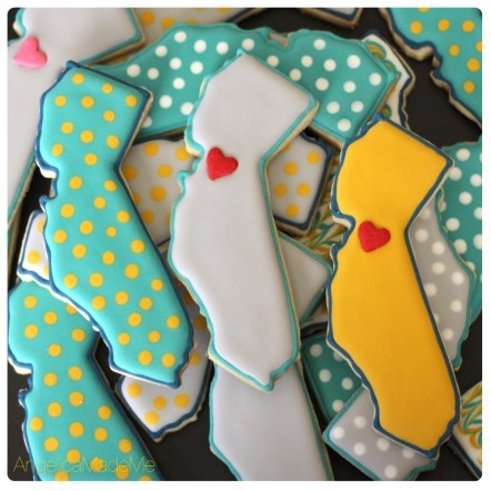 California Love Sugar Cookies