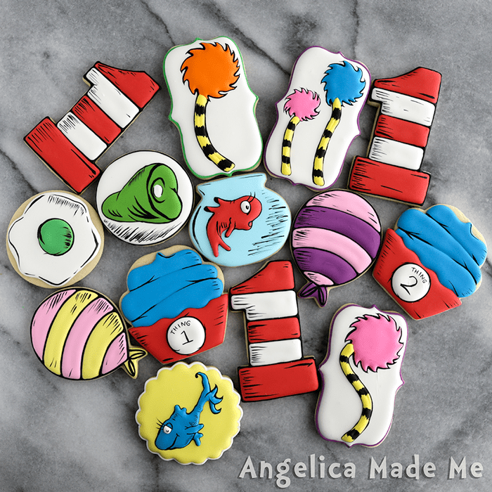 Dr. Seuss Birthday Cookie Set