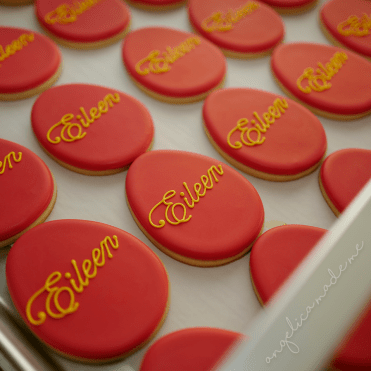 Red Egg & Ginger Party Cookies