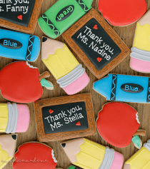 Teacher Appreciation Day Cookies