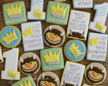 Where the Wild Things Are Cookie Set