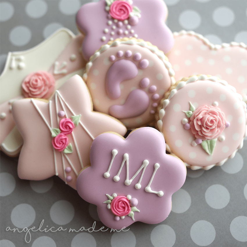 How To Decorate Baby Shower Cookies With Fondant Baby Shower Ideas