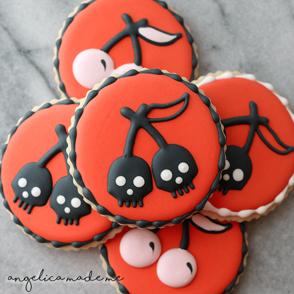 Custom Decorated Cookies for Halloween