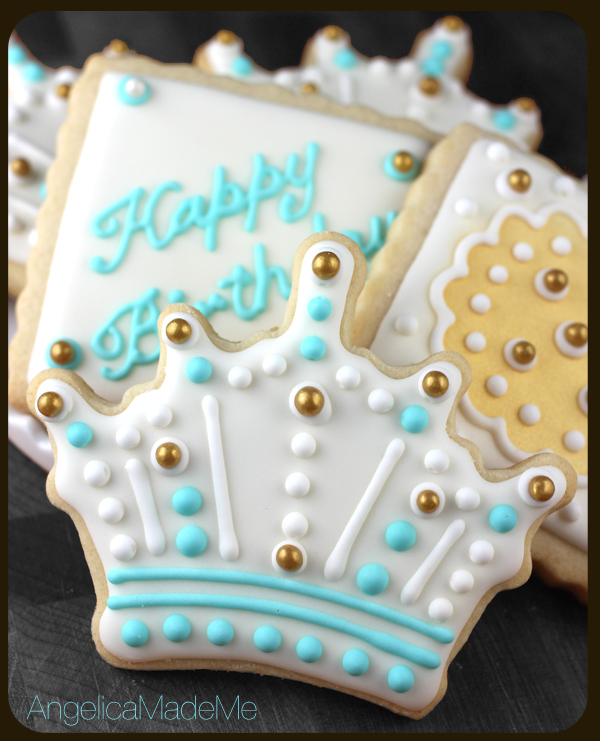 Price / Crown Birthday Cookies