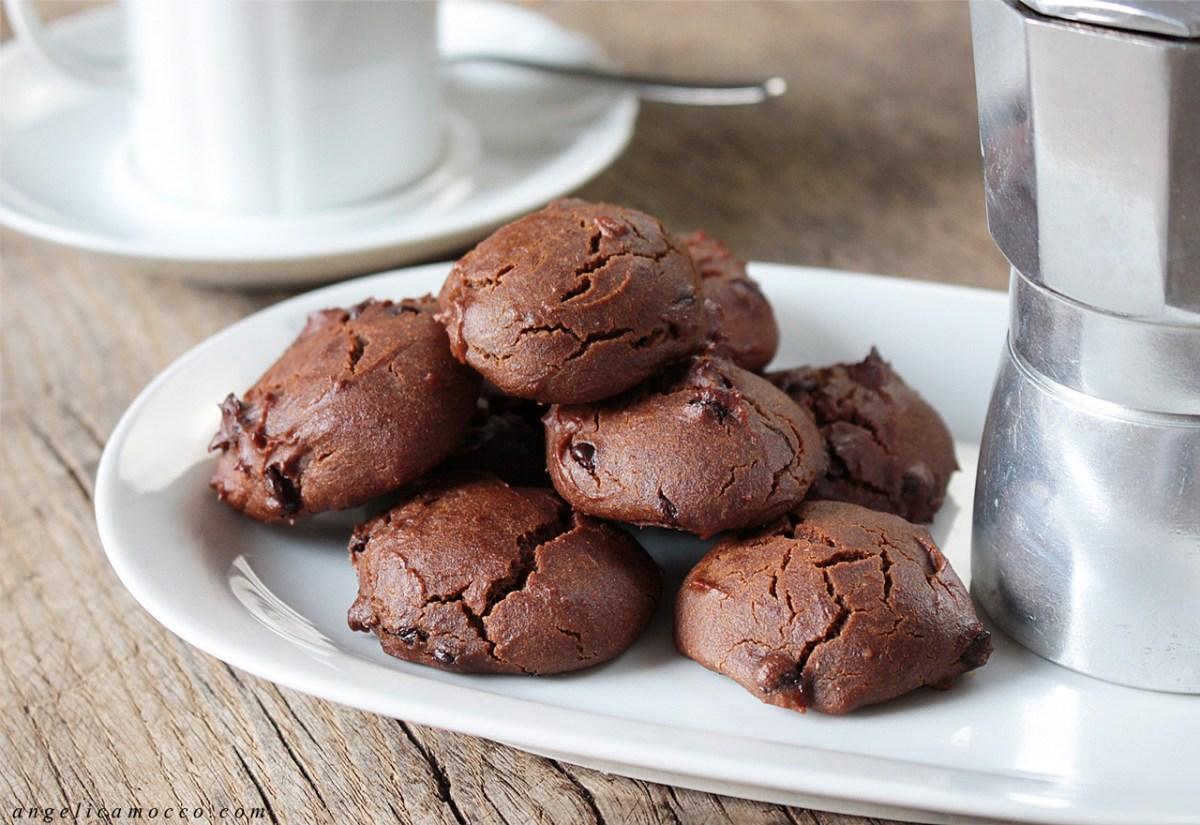 Biscotti di amaranto e caffè, vegan e senza glutine