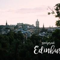 Edinburgh - een dagboekje