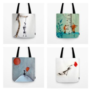 Art Tote bags | Canvas shoppers