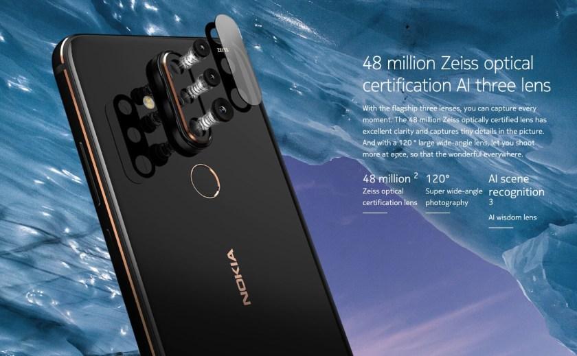 Nokia X71 camera