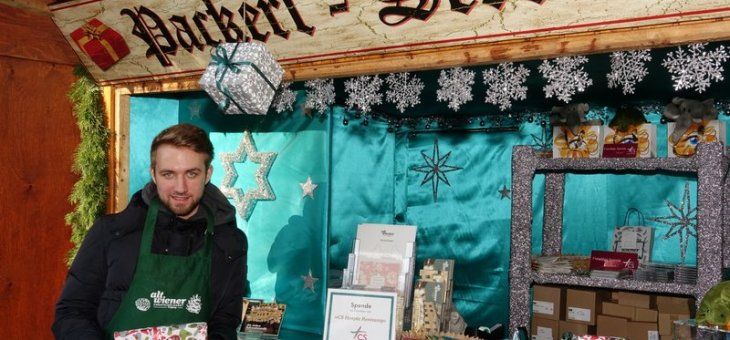 Packerl Service am Altwiener Christkindlmarkt
