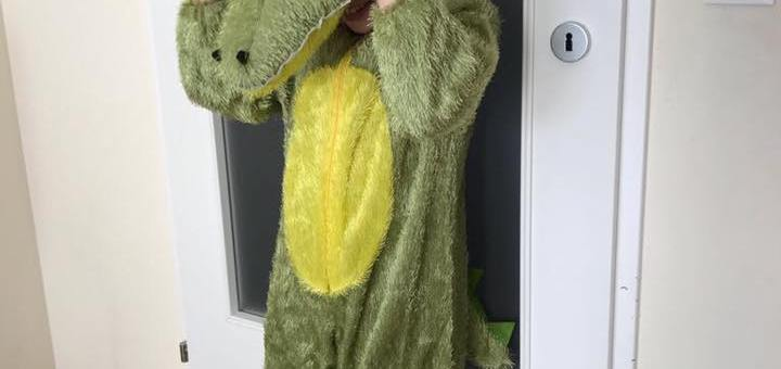 Unser Krokodil ❤
