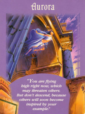 Aurora Angel Card Extended Description - Messages from Your Angels Oracle Cards by Doreen Virtue