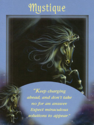 Mystique Angel Card Extended Description - Messages from Your Angels Oracle Cards by Doreen Virtue