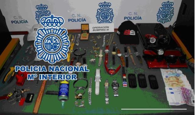 Método bumping, registro policia