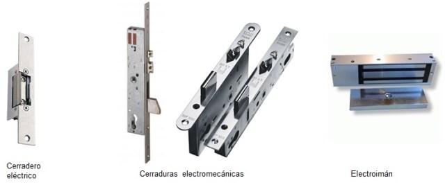 perifericos electricos control de acceso