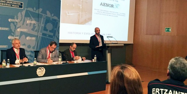 Comité AENOR seguridad física y sistemas de alarma