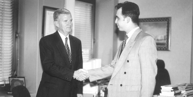 Juan Manuel Zarco y Jose Miguel Ángel Olleros