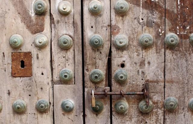 Cerraduras de seguridad para puertas antiguas