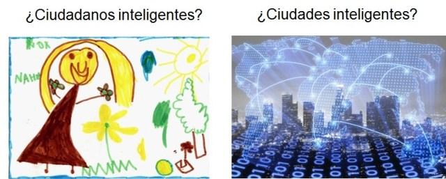 Ciudades inteligentes contra Sociedades inteligentes