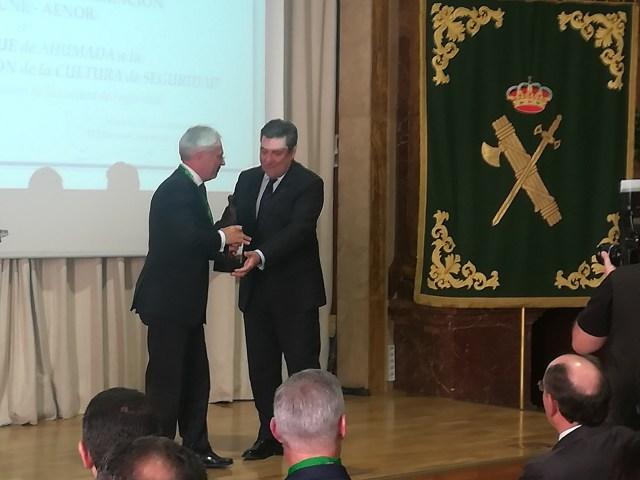 Premio Duque de Ahumada 2017 Javier Ruiz, Presidente UNE 108