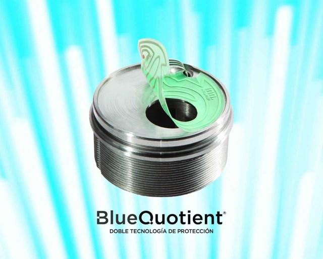 Doble tecnología BlueQuotient