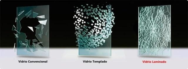 Diferencia entre vidrio templado y vidrio laminado