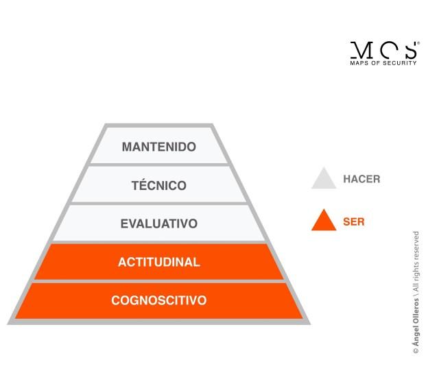 Pirámide evolutiva MOS en la toma de decisiones