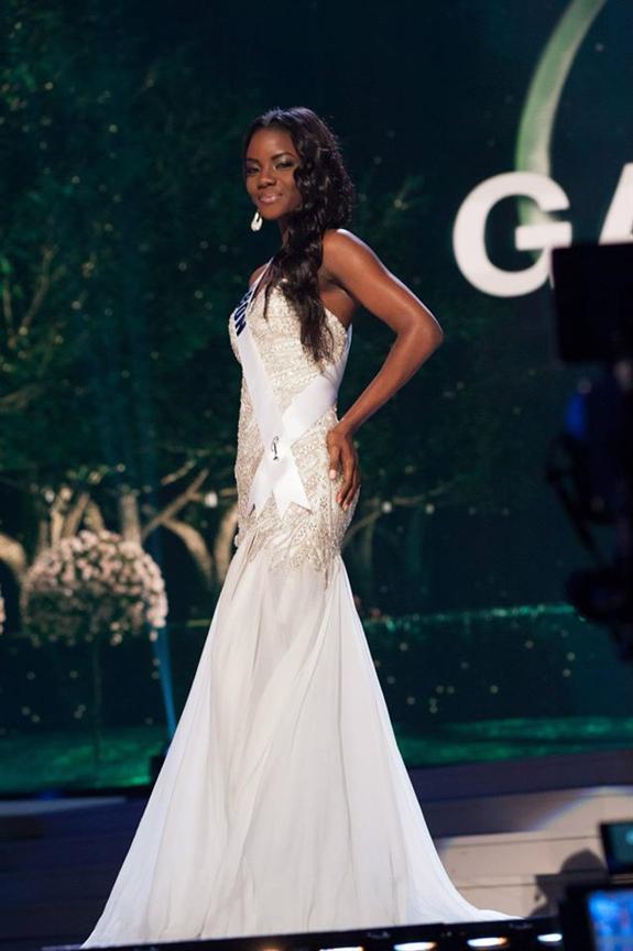 Maggaly Ornellia Emmanuelle Nguema Mamo Miss Universe