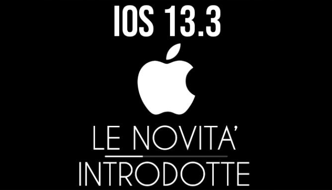 iOS 13.3 - banner