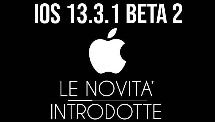 iOS 13.3.1 Beta 2 - banner