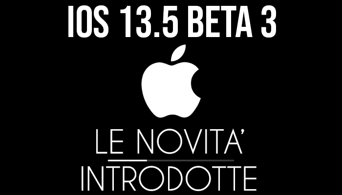 iOS 13.5 Beta 3 - banner