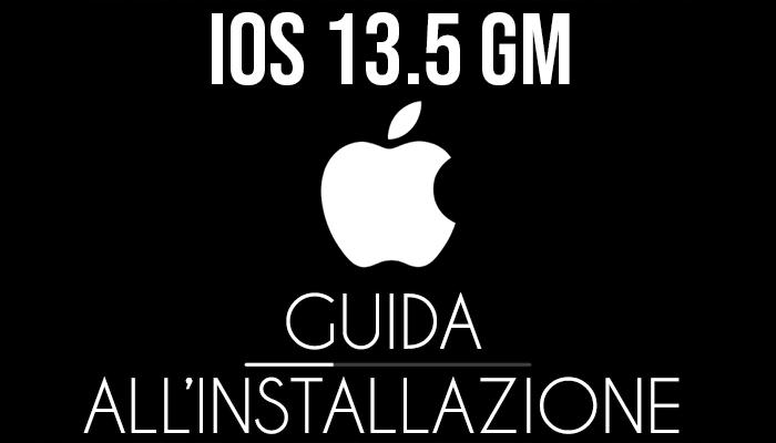 iOS 13.5 GM - installazione