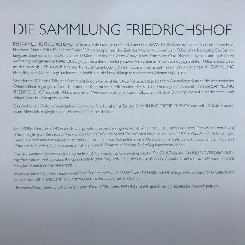 Sammlung Friedrichshof
