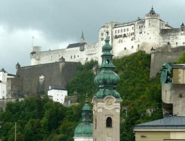Blick zur Festung Hohensalzburg